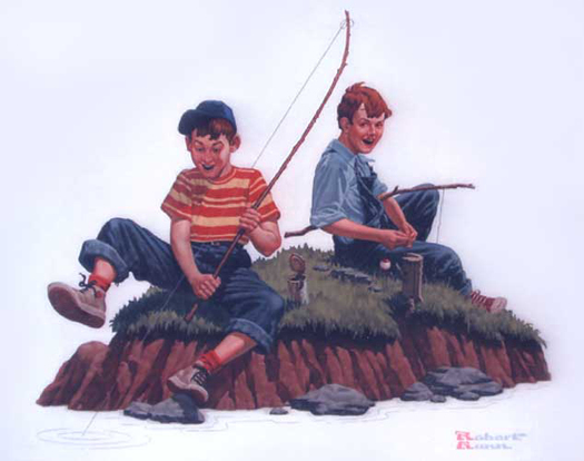 Fishing with Friends - Robert Gunn