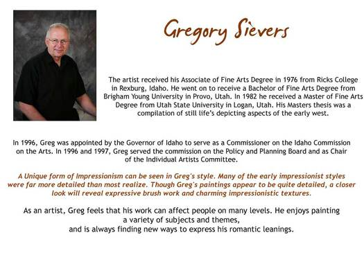 Gregory Sievers - Bio